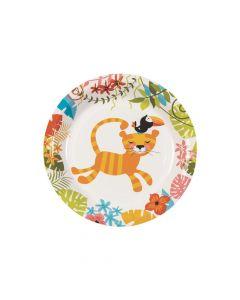 Jungle Baby Shower Paper Dessert Plates