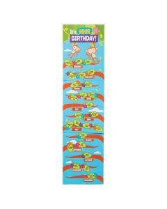 Jungle Birthday Chart