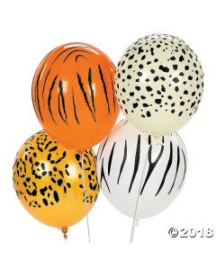 Jungle Latex Balloons