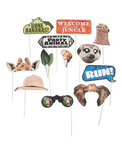 Jungle Photo Stick Props