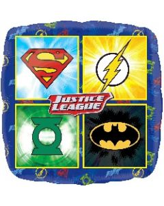Justice League Foil Balloon