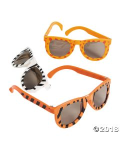 Kids Animal Print Sunglasses