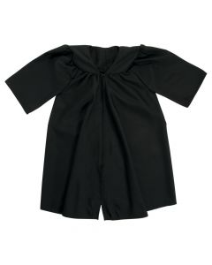 Kids' Black Matte Elementary School Graduation Robe