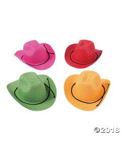Kids Colorful Cowboy Hats