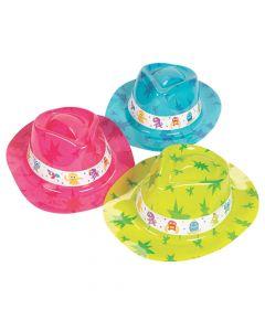 Kid's Cute Monster Fedora Hats