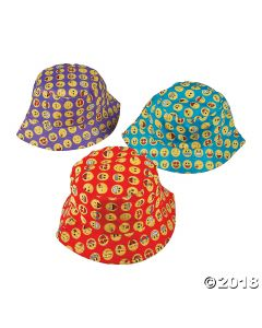 Kids Emoji Bucket Hats