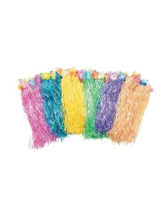 Kids' Flowered Hula Skirt Assortment