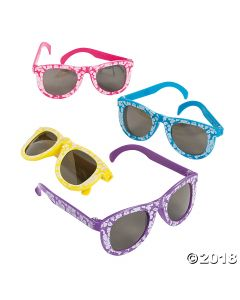 Kids' Hibiscus Sunglasses