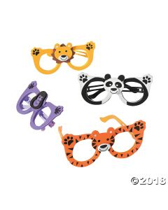 Kids Zoo Animal Glasses Assortment