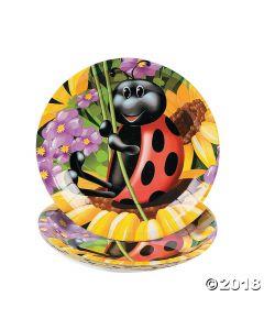 Ladybug Paper Dessert Plates