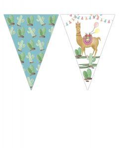 Lama Triangle Flag Banner