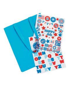 Laminated Tote Bag Craft Kit