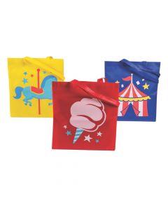 Large Carnival Tote Bags