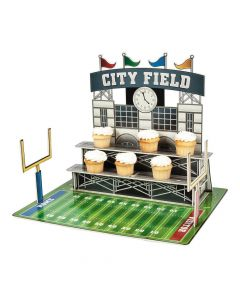 Large Football Stadium Cupcake Stand