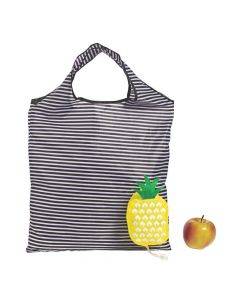 Large Pineapple Foldable Tote Bags