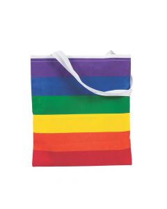 Large Rainbow Tote Bags