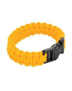 Large Yellow Paracord Bracelets