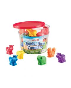 Learning Resources Jumbo Farm Counters