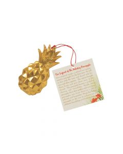 Legend of the Holiday Pineapple Ornaments with Card