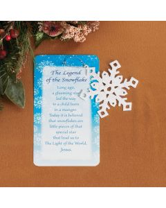 Legend of the Snowflake Christmas Ornaments