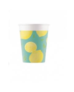Lemon Fresh Paper Cups