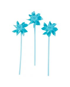 Light Blue Pinwheels