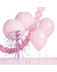 Light Pink Party Decorating Kit