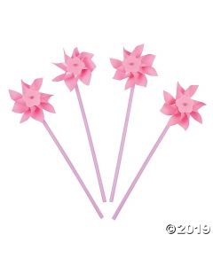 Light Pink Pinwheels