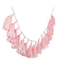 Light Pink Tassel Garland