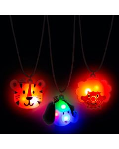 Light-Up Carnival Necklaces