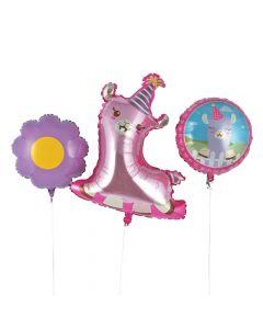 Lil' Llama Foil Balloons