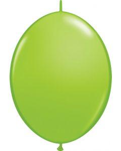 Lime Green 15cm Latex Quicklinks Balloons