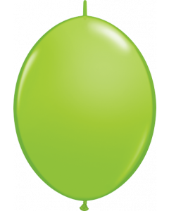 Lime Green. 30cm Latex Quicklinks Balloons