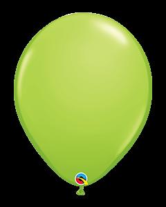Lime Green 40cm Round Latex Balloon