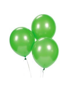 "Lime Green 9"" Latex Balloons"