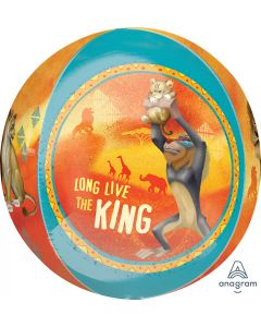 Lion King Orb Foil Balloon