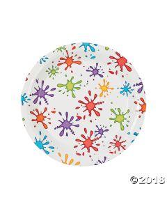 Little Artist Paper Dinner Plates