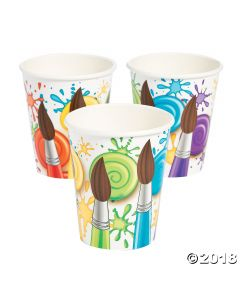 Little Artist Party Beverage Cups