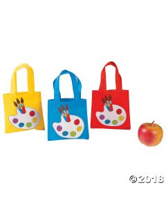 Little Artist Tote Bags
