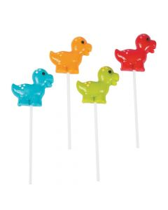 Little Dino Frosted Lollipops