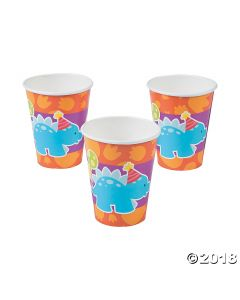 Little Dino Paper Cups