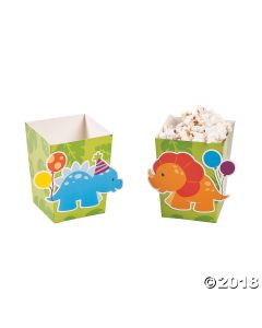 Little Dino Popcorn Boxes