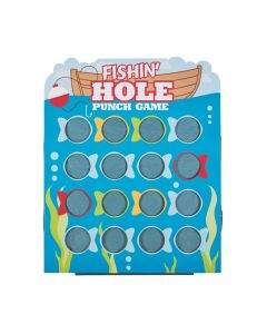Little Fisherman Fishin' Hole Prize Punch Game