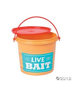 Little Fisherman Pails with Lids