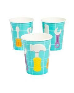 Little Handyman Paper Cups