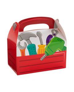 Little Handyman Red Tool Box Treat Box