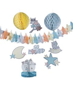 Little Panda and Friends Baby Shower Decorating Kit
