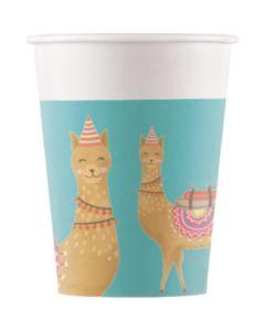 Llama-paper Cups
