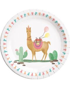 Llama-paper Plates Large