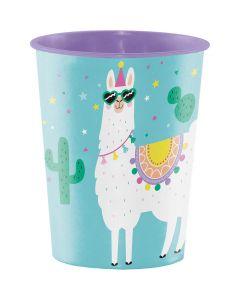 Llama Party Souvenir Cup